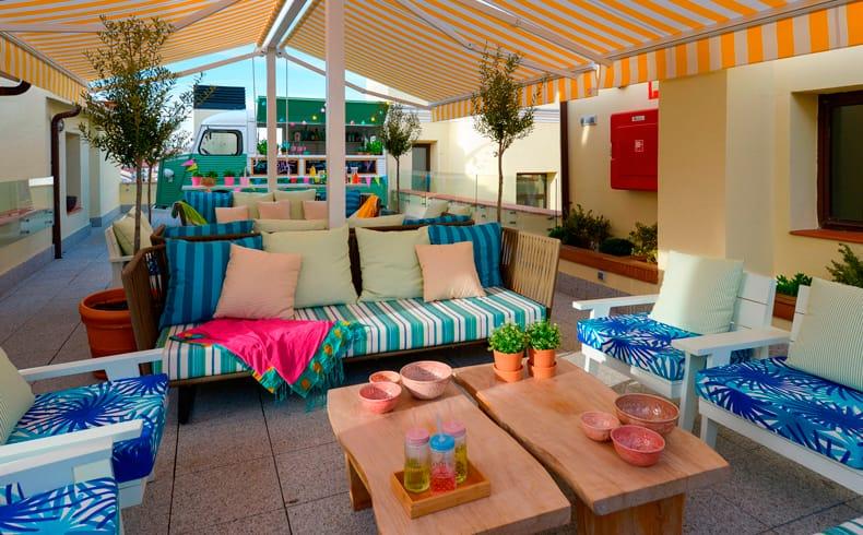 alquiler de terrazas para fiestas privadas