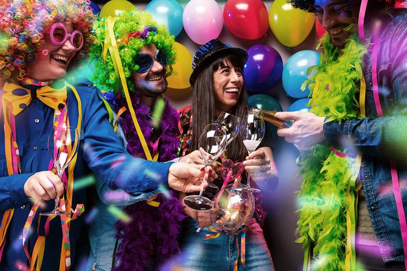 Fiesta de Carnaval en Madrid. Organiza tu propio Carnaval en un local alquilado